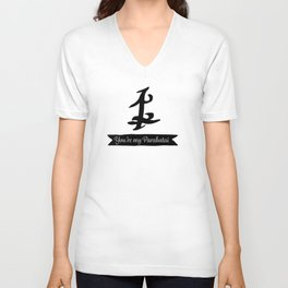 Shadowhunters parabatai friends Unisex V-Neck