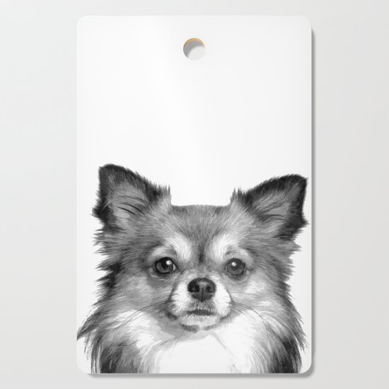Black and White Chihuahua by alemi
