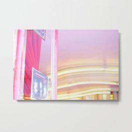 Pink in Paris 02 Metal Print