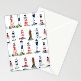 Swedish lighthouses Stationery Cards
