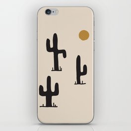 saguaro silent disco iPhone Skin