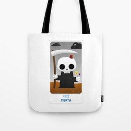 The Chibi Tarot - XIII Death Tote Bag