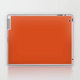 Solid Retro Orange Laptop & iPad Skin