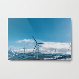 The Wind Farm (Color) Metal Print