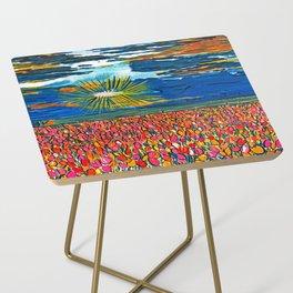 Light in My Art Side Table