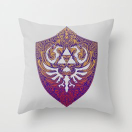 Hylian Victoriana Throw Pillow