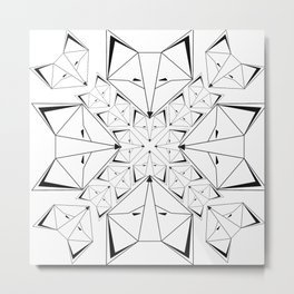 Arctic Skulk Metal Print