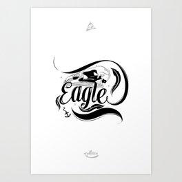 Haast Art Print
