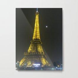 Toure d'Eiffel Metal Print