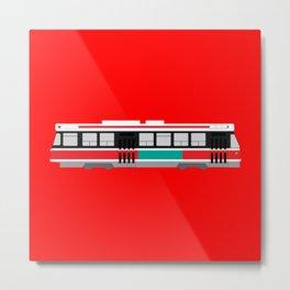 Toronto TTC Streetcar Metal Print