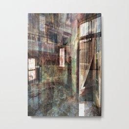 Broken Windows Metal Print