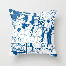 Party I Throw Pillow