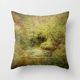The Magic Gorge Throw Pillow