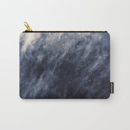 Blue Clouds, Blue Moon Carry-All Pouch