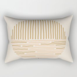 one last swim Rectangular Pillow