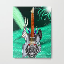 Keyblade Guitar #2 - Fenrir Metal Print