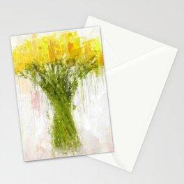 Dahlia Arrangement Stationery Cards