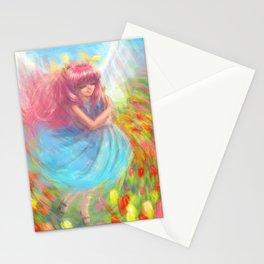 A dream of Spring Wedding Peach Stationery Cards