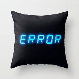 ERRORTRUTH Throw Pillow