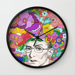 Notorious RBG Wall Clock