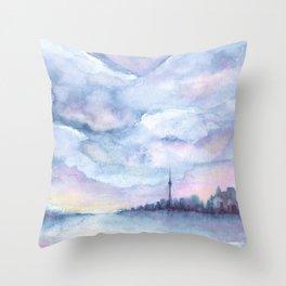 Once Upon Toronto - Skyline Throw Pillow