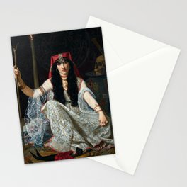 THE SORCERESS - GEORGES MERLE Stationery Cards