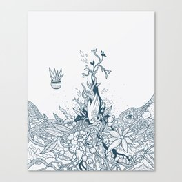 The Witch's Hand Canvas Print