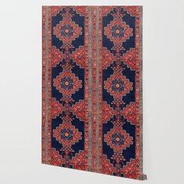 Afshar Kerman South Persian Rug Print Wallpaper