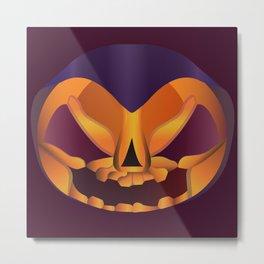 The face of Halloween Metal Print