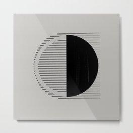 Moon Vibration Metal Print