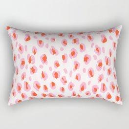 Pink Leopard Rectangular Pillow