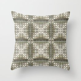 Luxury Ornaments Throw Pillow