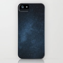 Foggy stars iPhone Case