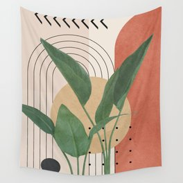 Nature Geometry V Wall Tapestry