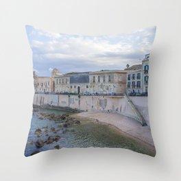 Syracuse Waterfront Throw Pillow