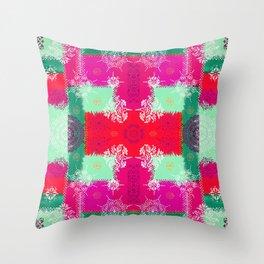 Indian Mirror Throw Pillow