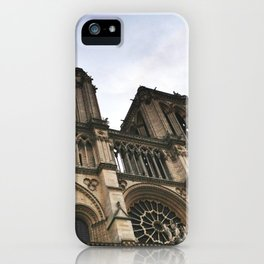 Notre Dame Towers iPhone Case