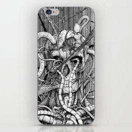 de hypterion I - The guardian - skull iPhone Skin