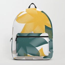 Vectorial Flowers Backpack