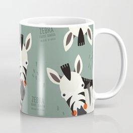 Zebra, African Wildlife Coffee Mug