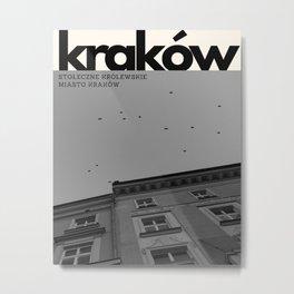 Krakow Magazine Metal Print
