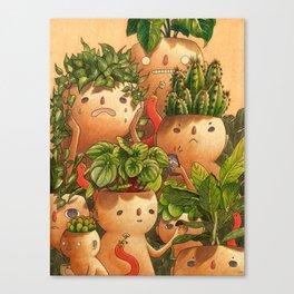 Plant-minded Leinwanddruck