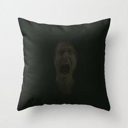 Silent Scream 1 Throw Pillow