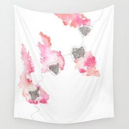 Scandi Micron Art Design | 170412 Telomeres Healing 25 Wall Tapestry
