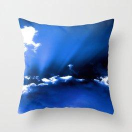 Sharm Skies Throw Pillow