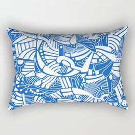 - the captain who fell with the blue angels - Rectangular Pillow