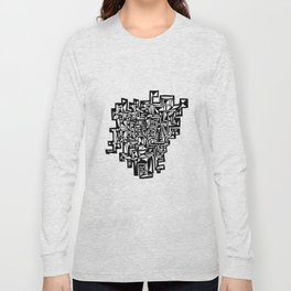 Q R CODE Long Sleeve T-shirt