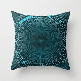 spiral sieve Throw Pillow
