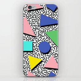 Memphis pattern 5 iPhone Skin