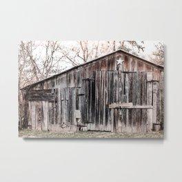 Lone Star Barn x Texas Hillcountry Metal Print